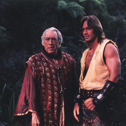 Kevin Sorbo and Anthony Quinn