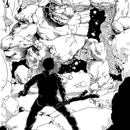 Golem Attack Sketch