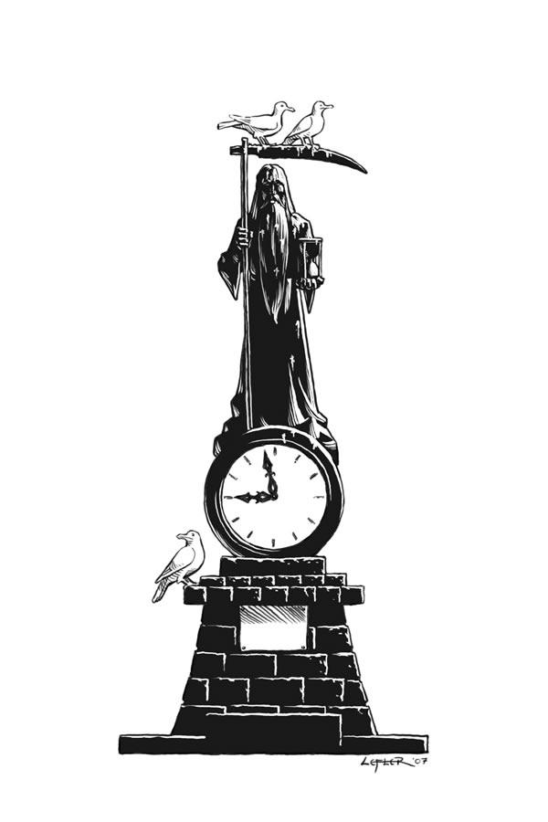 Death Clock Sketch