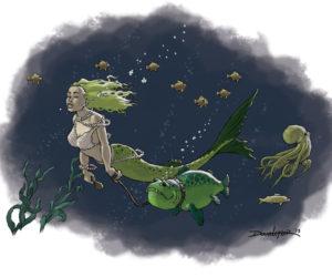 Do Mermaids Keep Pets?