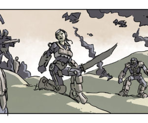 Storyboards from Edge of Tomorrow