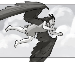 Maleficent Storyboard #1