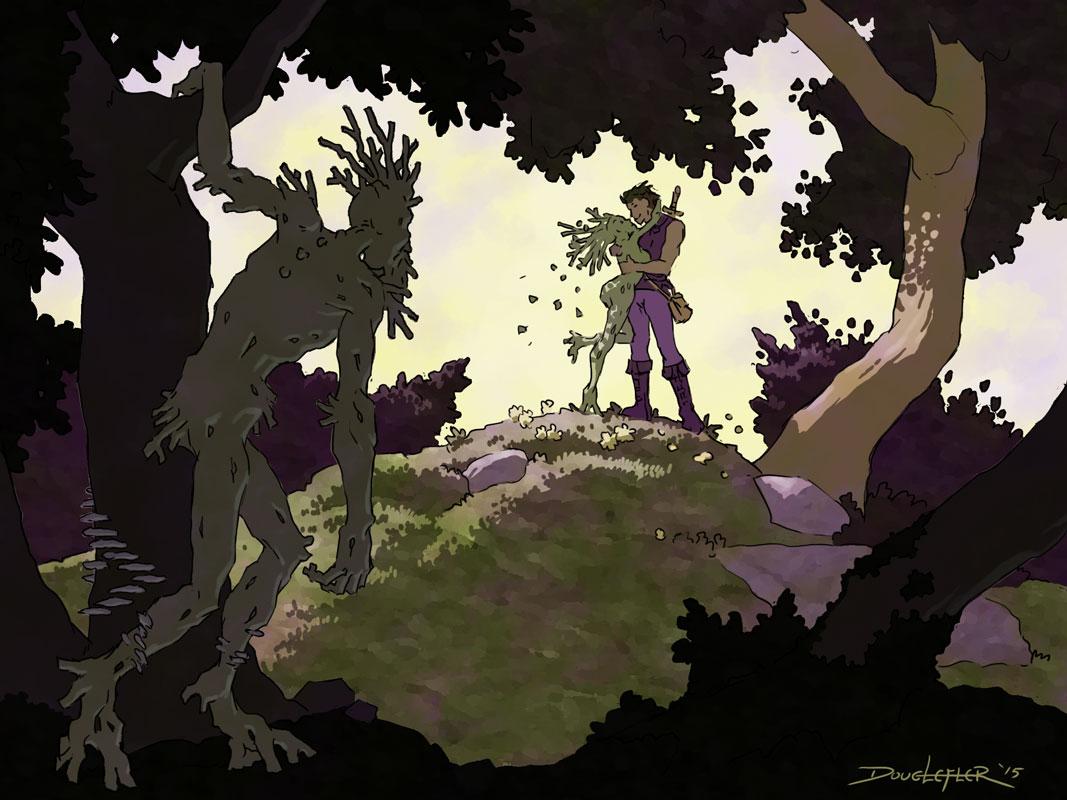 Forest Creature Romance