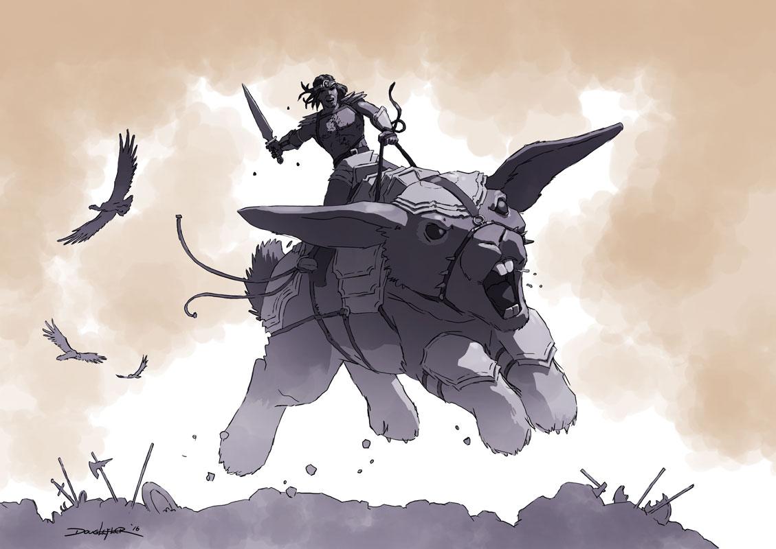 Barbarian and bunny