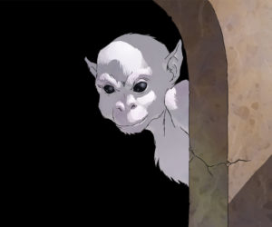 """Beware the White Monkey"""