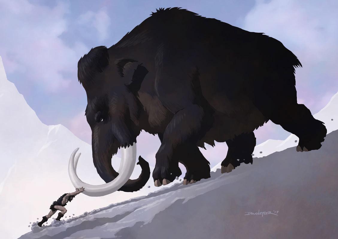 Pushing a mammoth uphill