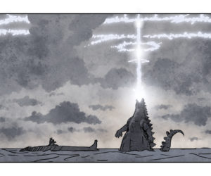 Godzilla, Revived - Storyboard