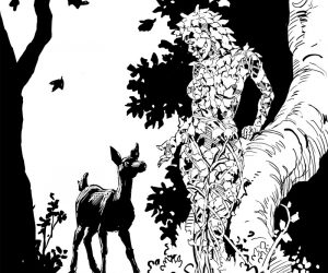 """""""Dryad with Fawn"""""""